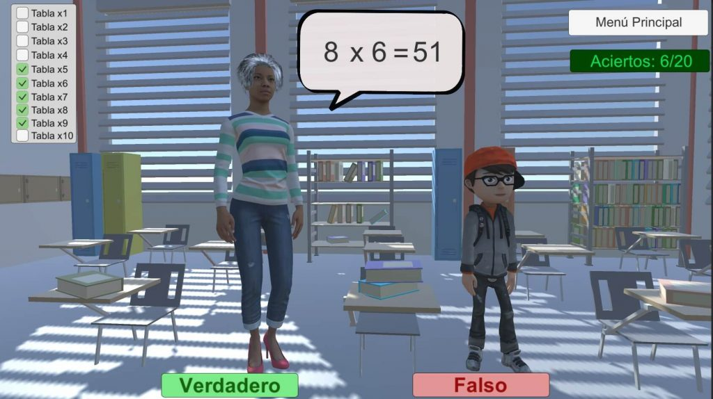 multiplicar con verdadero o falso